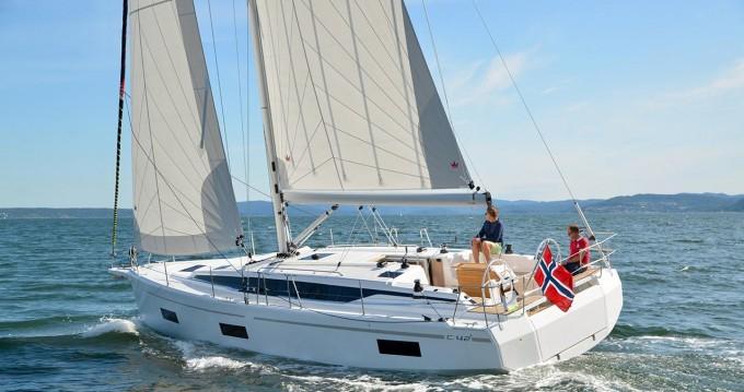 Boat rental Trogir cheap Bavaria C42