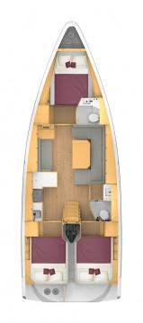 Boat rental Biograd na Moru cheap Bavaria C42 Style