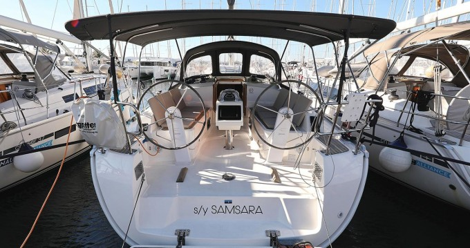 Bavaria Cruiser 37 between personal and professional Biograd na Moru