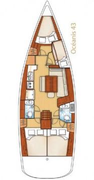 Rent a Bénéteau Oceanis 43 Naples