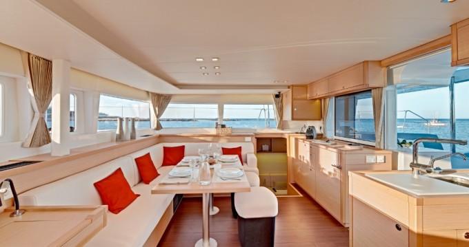 Boat rental Portocolom cheap Lagoon 450 F
