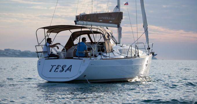 Boat rental Kaštela cheap Elan Impression 35
