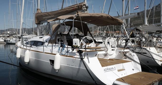 Rental Sailboat in Kaštela - Elan Impression 45