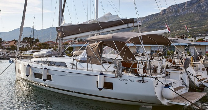 Rental yacht Kaštela - Bénéteau Oceanis 46.1 on SamBoat