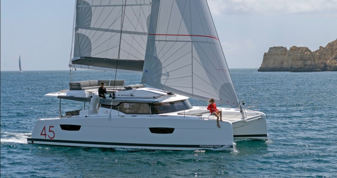 Fountaine Pajot Elba 45 between personal and professional Seget Donji