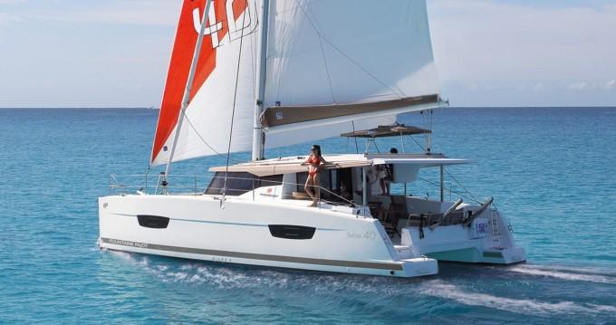 Rent a Fountaine Pajot Lucia 40 Marina Cay