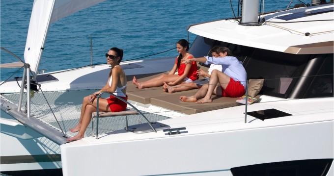 Rental yacht Marina Cay - Fountaine Pajot Lucia 40 on SamBoat