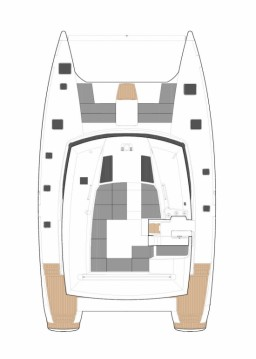 Hire Catamaran with or without skipper Fountaine Pajot Seget Donji