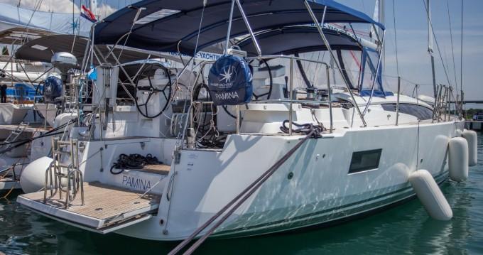 Rental yacht Seget Donji - Jeanneau Jeanneau 54 - 4 + 1 cab. on SamBoat