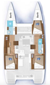 Rental Catamaran in Marsh Harbour - Lagoon Lagoon 40
