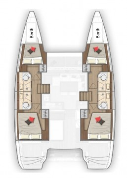Rental Catamaran in Marina Cay - Lagoon Lagoon 40