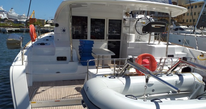 Hire Catamaran with or without skipper Lagoon Marina Cay