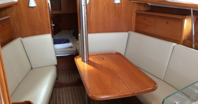 Jeanneau Sun Odyssey 35 between personal and professional Ionian Islands