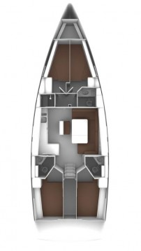 Bavaria Cruiser 46 between personal and professional Lávrio