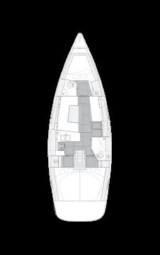 Rental Sailboat in Kaštela - Elan Impression 40.1