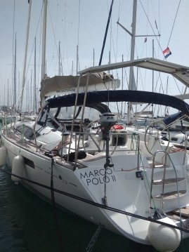 Boat rental Kaštela cheap Jeanneau 53