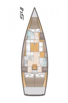 Boat rental Kaštela cheap Salona 41