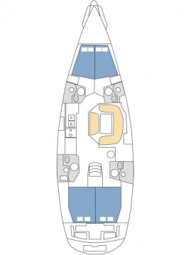 Boat rental Kaštela cheap Sun Odyssey 49i