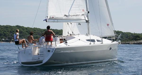 Rental yacht Primošten - Elan Impression 344 on SamBoat