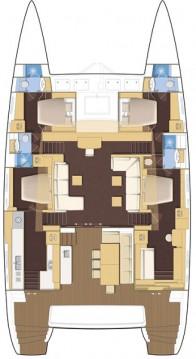 Rental yacht Pula - Lagoon Lagoon 620 on SamBoat