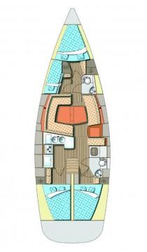 Rental Sailboat in Biograd na Moru - Elan Impression 45