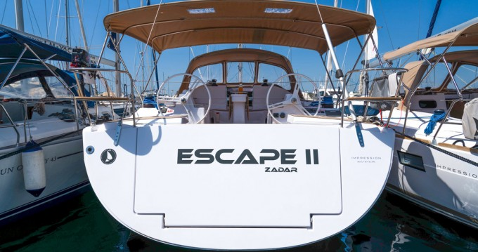 Rental Sailboat in Biograd na Moru - Elan Impression 50