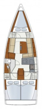 Rental Sailboat in Biograd na Moru - Hanse Hanse 345