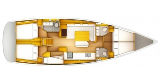 Rent a Jeanneau Sun Odyssey 519 Biograd na Moru
