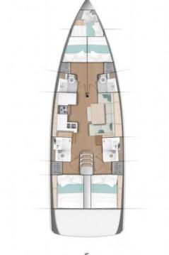 Rental yacht Kaštela - Jeanneau Sun Odyssey 490 on SamBoat
