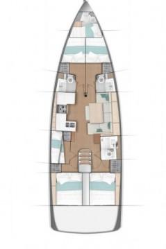 Boat rental Jeanneau Sun Odyssey 490 in Kaštela on Samboat