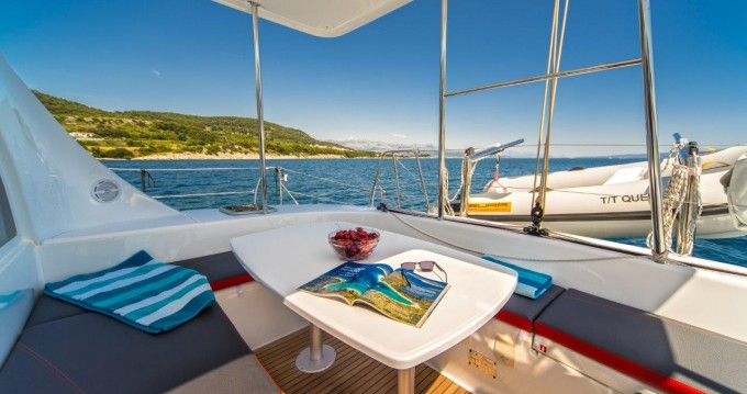 Catamaran for rent Novi Vinodolski at the best price