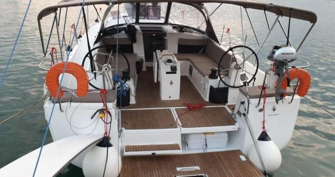 Boat rental Deme of Volos cheap Sun Odyssey 490