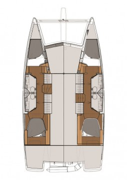 Catamaran for rent Biograd na Moru at the best price