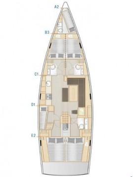 Rent a Hanse Hanse 508 Biograd na Moru