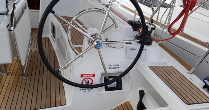 Boat rental Biograd na Moru cheap Sun Odyssey 409