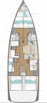 Rental Sailboat in Biograd na Moru - Jeanneau Sun Odyssey 490
