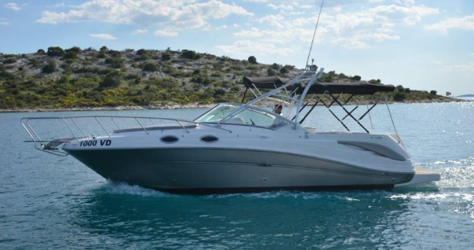 Hire Motorboat with or without skipper Sea Ray Tribunj