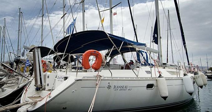 Rental Sailboat in Alimos - Jeanneau Sun Odyssey 45.2