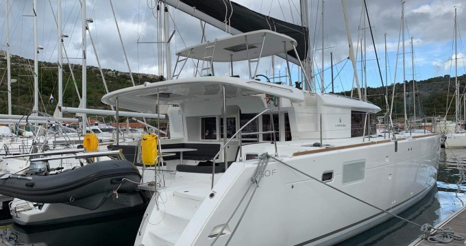 Boat rental Primošten cheap Lagoon 450