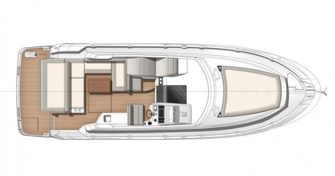Boat rental Trogir cheap Leader 36
