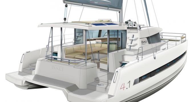 Rental yacht Primošten - Catana Bali 4.1 - 4 cab. on SamBoat