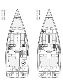 Rental Sailboat Viko-Yachts with a permit