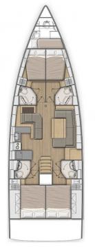 Rental Sailboat in Seget Donji - Bénéteau Oceanis 51.1