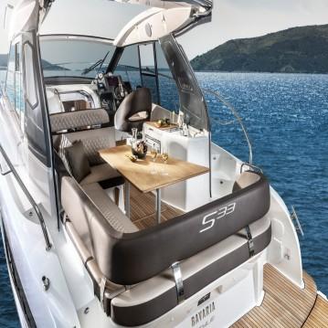 Rental yacht Biograd na Moru - Bavaria Bavaria 33 Sport HT on SamBoat