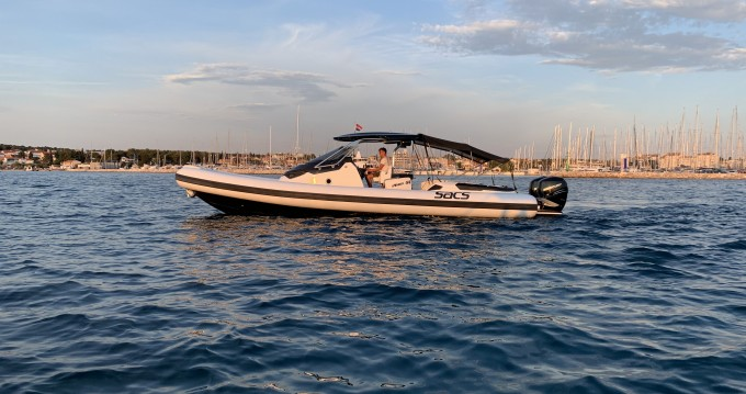 Boat rental Biograd na Moru cheap Sacs Strider 11