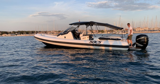 Rental Motorboat in Biograd na Moru - Sacs Sacs Strider 11