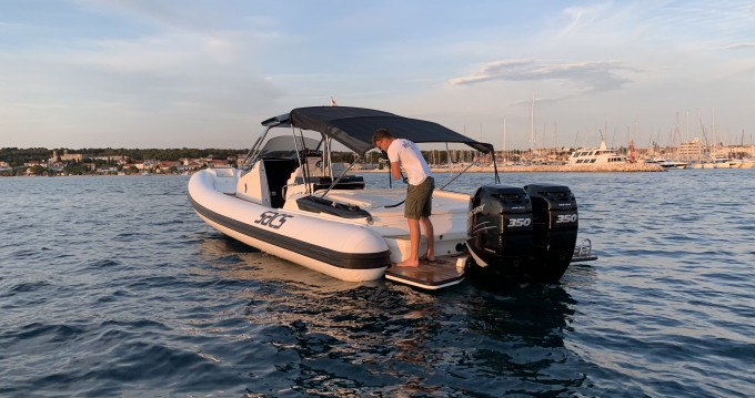 Boat rental Sacs Sacs Strider 11 in Biograd na Moru on Samboat