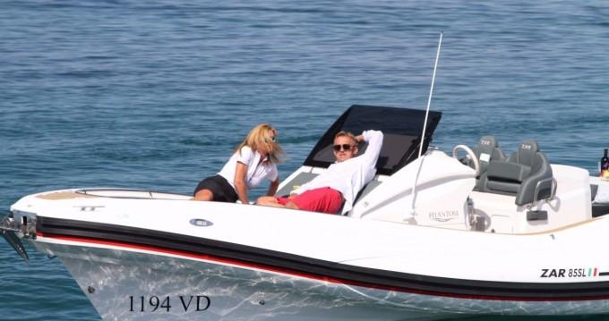 Rental RIB in Biograd na Moru - Zar ZAR 85 Sport Luxury - 1 cab.