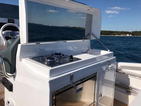 Boat rental Zar ZAR 85 Sport Luxury - 1 cab. in Biograd na Moru on Samboat