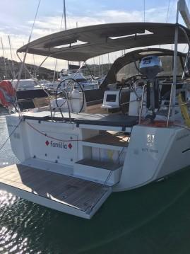 Boat rental Lávrio cheap Dufour 460 Grand Large
